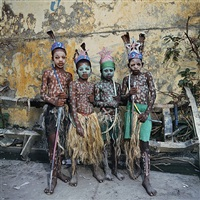 les indians, jacmel, haiti by phyllis galembo