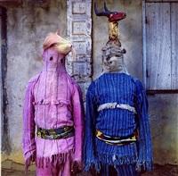 akata masquerade, eshinjok village, nigeria by phyllis galembo