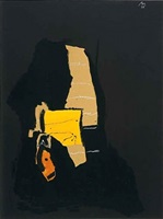 night dream by robert motherwell