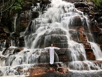 places of power, waterfall by marina abramovic