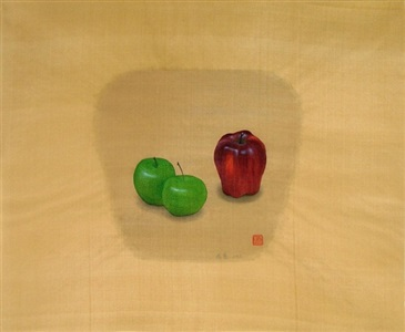 apples #2-1 by yang yi