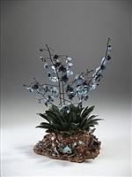 gisgrazia con orchidee blu by bertozzi & casoni