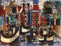 le port by marcel gromaire