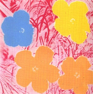 flowers 70 by andy warhol
