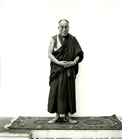 his holiness the dalai lama at rato by nicholas vreeland