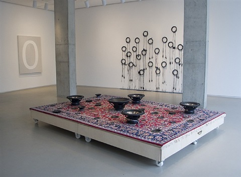 oriental accident, installation view by mounir fatmi