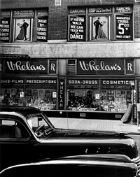 whelan's drug store, new york by brett weston
