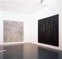 ausstellungsansicht: günther uecker: geschriebene bilder, 2011