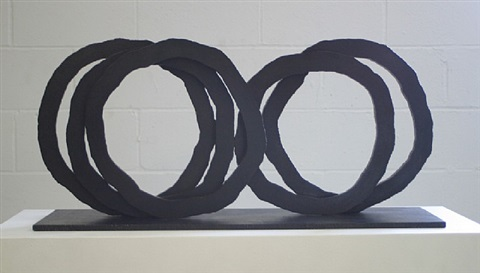 five indeterminate lines by bernar venet