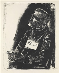 blinder by otto dix