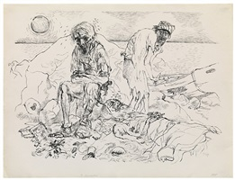 shipwrecked by george grosz