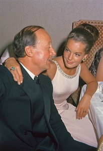 prinz constantin liechtenstein und romy schneider (august 1964, salzburg) by marianne fürstin zu sayn-wittgenstein