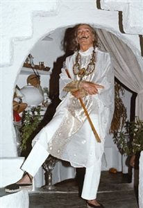 salvador dali (september 1978, costa brava) by marianne fürstin zu sayn-wittgenstein