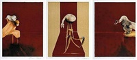 2nd version of 1944 triptych by francis bacon