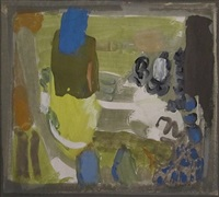 untitled (composition) by chafic abboud