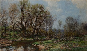 landscape by hugh bolton jones