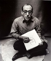 saul steinberg, ny, january 29, 1947 by irving penn