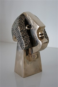 head of poet by parviz tanavoli