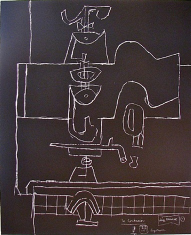 série panurge 4 by le corbusier