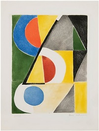 composition with triangles and semicircles by sonia delaunay-terk