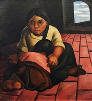 hermanas by eduardo kingman