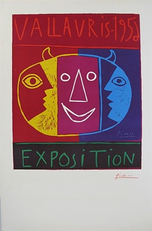 vallauris 1956 exposition by pablo picasso