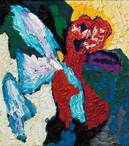 fallen wings by karel appel