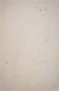 recent acquisitions by egon schiele