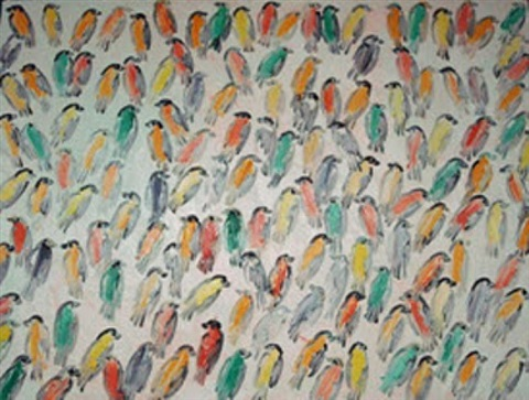 finches by hunt slonem