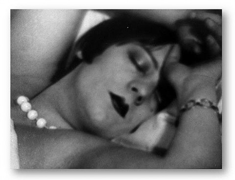 kiki de montparnesse (with pearls) by man ray