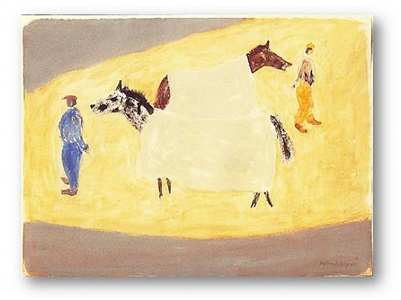 early morning workout by milton avery