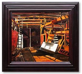 porter barn interior southampton by fairfield porter