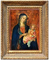 the madonna and child by duccio di buoninsegna