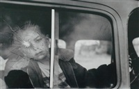 cracked glass with boy by elliott erwitt
