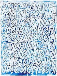 drawings by mel bochner