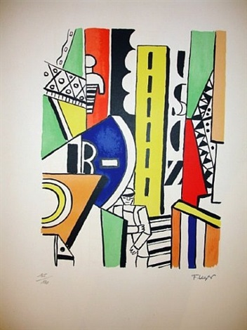 city by fernand léger