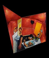 the red bathroom by anthony green