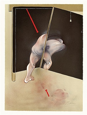 study from the human body by francis bacon
