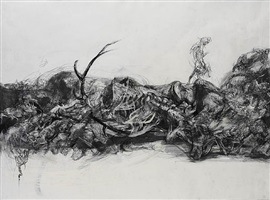 the death of actaeon by lanfranco quadrio