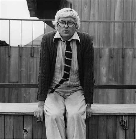 david hockney by robert mapplethorpe