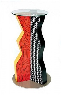 the ivory pedestal by ettore sottsass