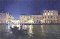lights on the grand canal by nicholas verrall