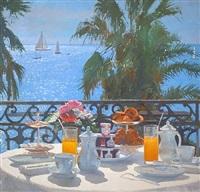 petite dejeuner sur la cote d'azur by nicholas verrall