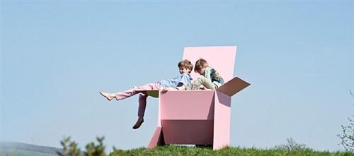 carton chair xl by sebastian de ganay