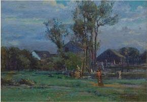 the homestead by george henry smillie