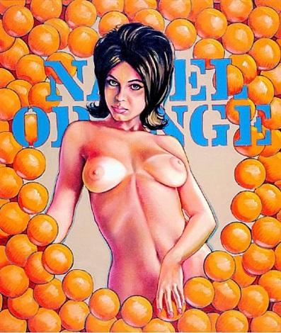 navel oranges by mel ramos