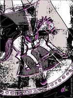 the roundabout horse / das karusellpferd by jacqueline ditt