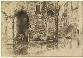 the two doorways by james abbott mcneill whistler