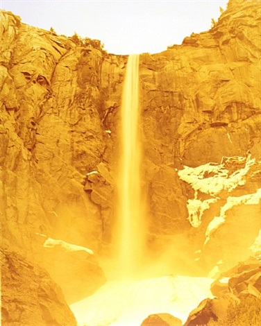 bridalveil falls, yosemite, ca by david benjamin sherry