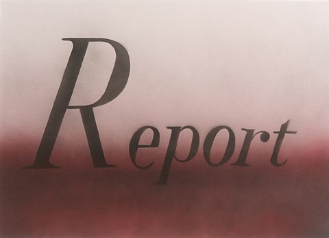 report by ed ruscha